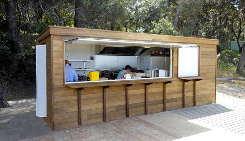 Algeco module cuisine